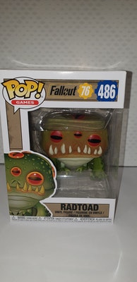 Radtoad Pop vinyl from fallout 76