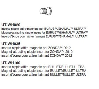 Campagnolo Magnet-ATtracting Nipple Insert For Zonda UT-WH035