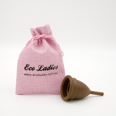 Eco Ladies MENSTRUAL CUPS PERIOD CUPS REUSABLE TAMPONS THE KEEPER® Size B before child birth & c section Buy 2 for $65