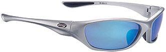 Cruiser Sport Glasses - Glossy Silver - Blue Lens  - BSG-21.2135
