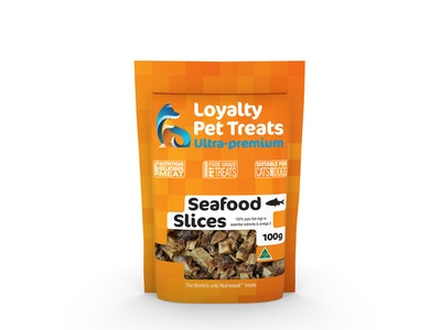 Loyalty Pet Treats Seafood Slices (Assorted Fish) 100Grams