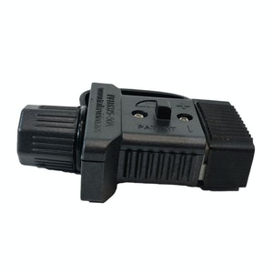 Trailer Vision 50 amp Anderson Plug Cover with Dust Cap Black