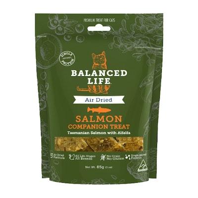 BALANCED LIFE Companion Treats Food for Pet Cats Salmon 85g