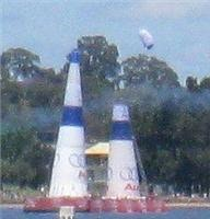 GoSee on the deck in Western Australia at Air Race final stage in Perth