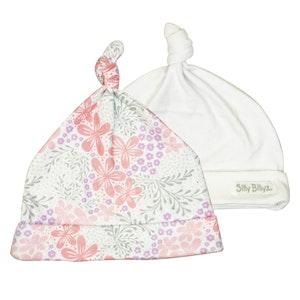 Silly Billyz Two Gumnut Bloom Baby Hats