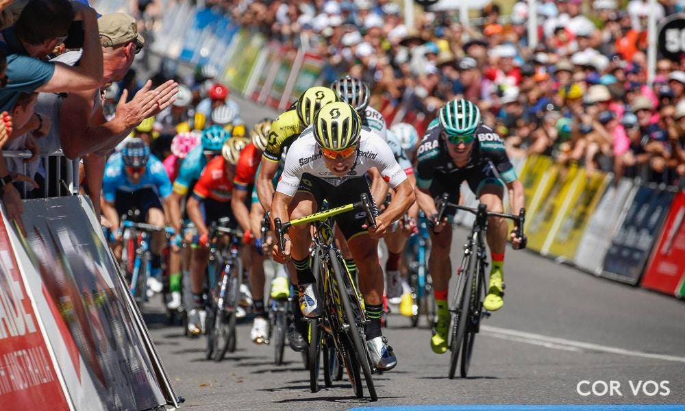 Tour Down Under Stage Two Race Recap
