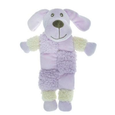 Aroma Dog Calming Fleece Squeaker Mat Dog Toy 32cm