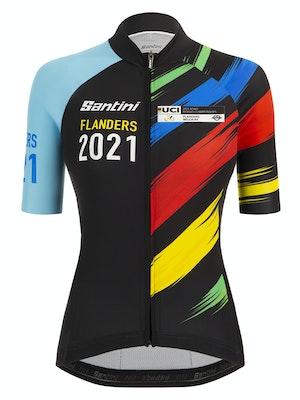 Santini Flanders 2021 UCI World Championship Women's Jersey