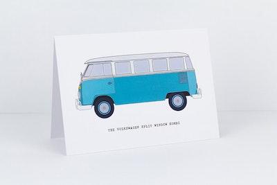 The Volkswagen Split Window Kombi