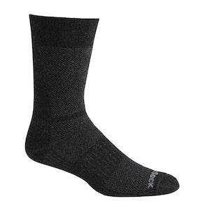 Wrightsock Blister-free Eco Lite Hike - Crew Socks - Black