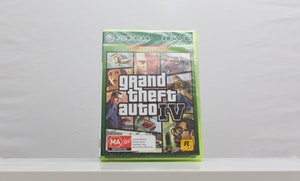 **SEALED** Grand Theft Auto GTA IV XBOX 360 / XBOX ONE / XBOX SERIES X