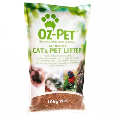 Oz-Pet All Natural Cat & Anti Microbial Wood Pet Litter - 4 Sizes