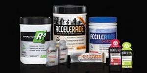 Accelerade Sports Nutrition Range