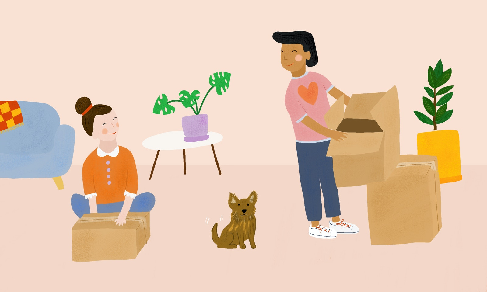 The Do's and Don'ts Of Moving In Together