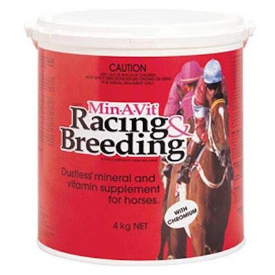 International Animal Health Iah Min-A-Vit Racing & Breeding Joint Growth Development For Horses - 2 Sizes