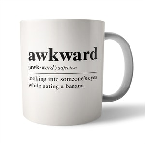Dictionary Definition: Awkward - Ceramic Mug