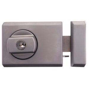 Whitco Deadlatch with Timber Frame Strike Single Pack - Satin Chrome -W754105