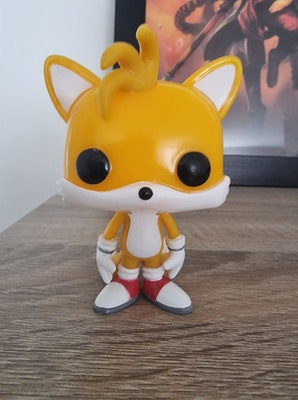 Funko Pop! Sonic the Hedgehog Tails #07 Out of Box