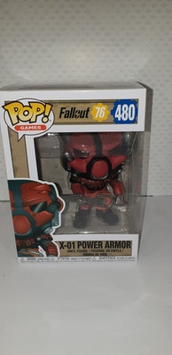 X-01 power armour Pop vinyl from fallout 76
