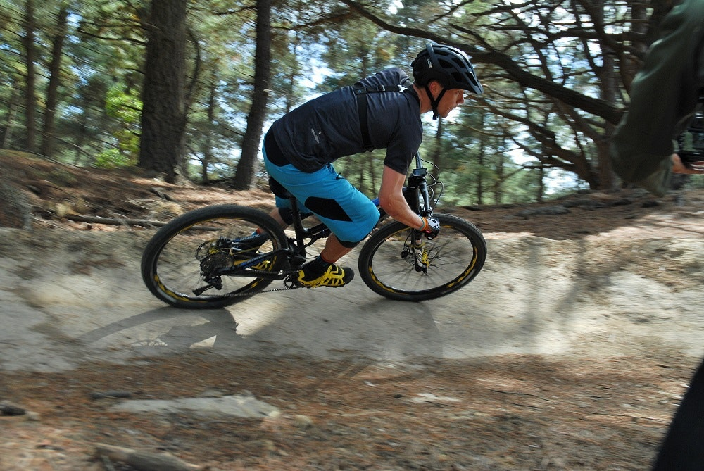 riding the black hill mountain bike park