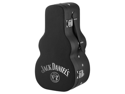 Jack Daniel's Old No. 7 Tennessee Whiskey + Guitar Case 700mL