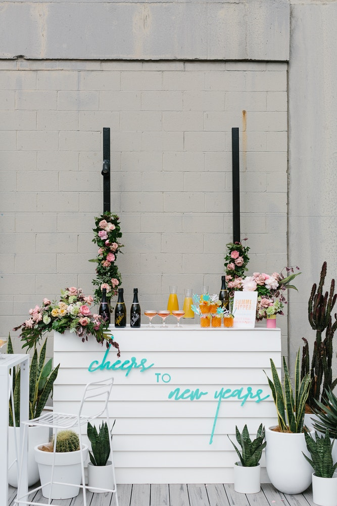 New Years Eve Bar Styling Inspiration