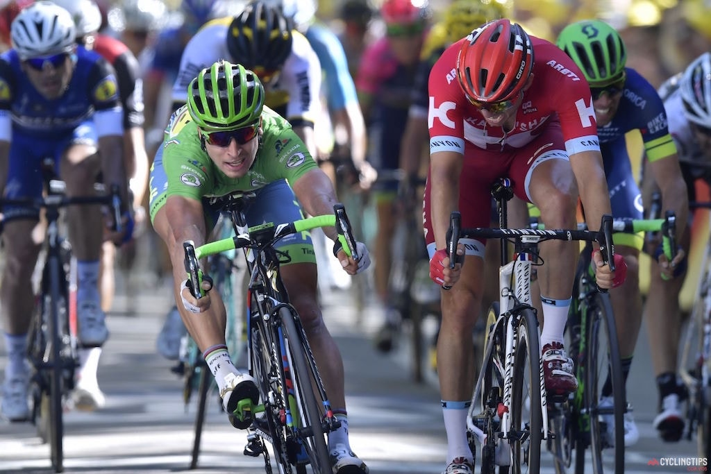 In photo finish, Sagan snatches third stage win at 2016 Tour de France