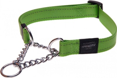 Rogz Utility Collar Obed Lime