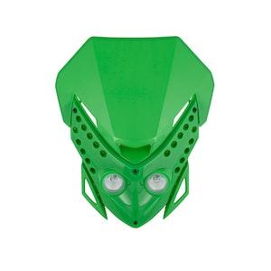 Viper Motocross Front Headlight - Green
