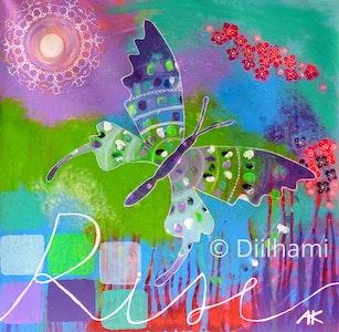 Diilhami Art Rise Art Print 300 x 300mm