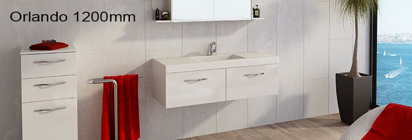 Timberline Orlando 1200mm Wall Hung Vanity Pre Built Bathroom Vanities For Sale In Killara