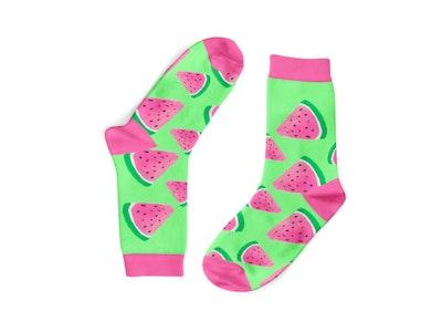 Juicy Watermelon Socks