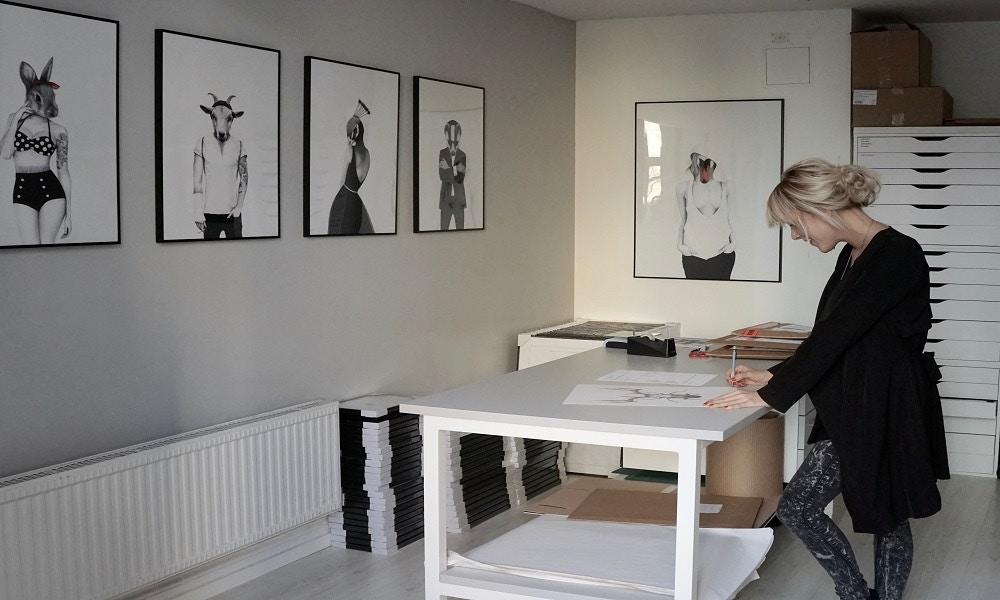 Introducing Sanna Wieslander Art from Sweden
