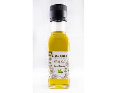 Spice Girlz Basil Infused Olive Oil 100ml