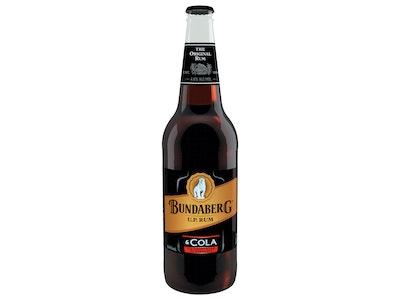 Bundaberg Rum and Cola Bottle 640mL