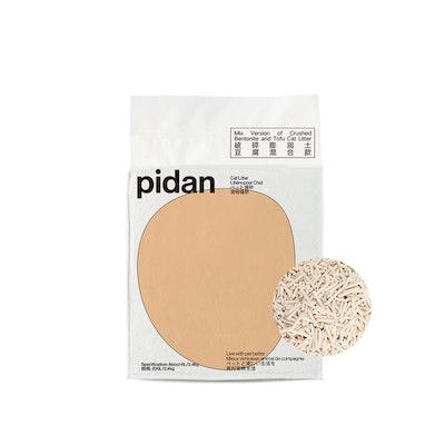 Pidan Mixed Crushed Bentonite And Tofu Cat Litter - 6L/2.4Kg