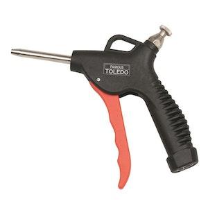 Toledo Air Blow Gun - Adjustable Air Flow 60mm Nozzle