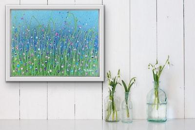 Fiona Adams Artwork Patience - Original painting