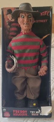 Freddy Krueger Animated Talking Doll In Box New Line Cinema Horror