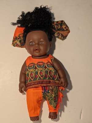 Designed by Florence Sanem Hauwa Doll