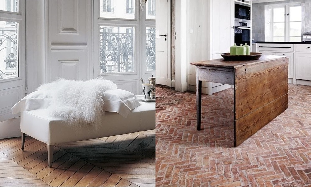 Chevron & Herringbone in The Home