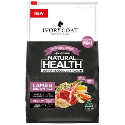 IVORY COAT Puppy Lamb & Brown Rice Dry Dog Food