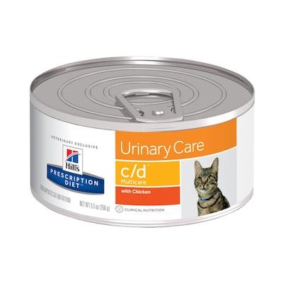 Hill's VET Hill's Prescription Diet C/D Multicare Urinary Care Wet Cat Food 156G