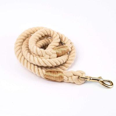 Barker & Bone Rope Dog Leash | Sunlight