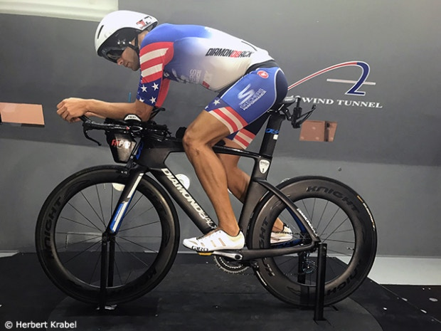 Slowtwitch Feature: Matt Russell hits the wind tunnel with his Knight 95 race wheels