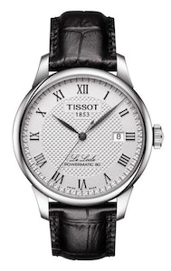 Tissot Le Locle Powermatic 80 with Leather Strap