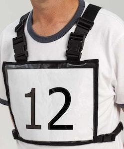 Eventing Number Holder Vest