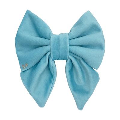 Swanky Paws Aqua Sailor Bow