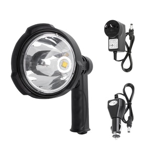 LIGHTFOX LIGHTFOX 25W CREE Handheld Spot Light Rechargeable LED Spotlight Hunting Shooting 12V