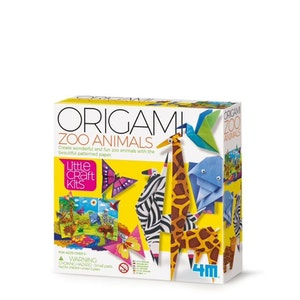 4M - Little Craft - Origami Zoo Animals
